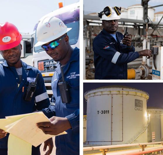 Gasoil Storage Ghana