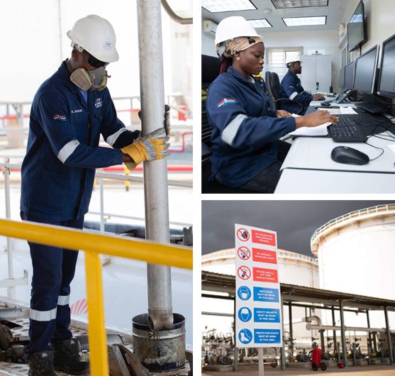 Gasoil Storage in Ghana
