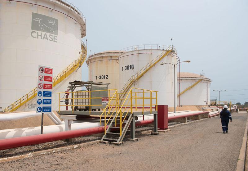 Gasoline Tank Farm Ghana